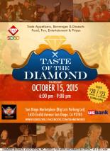 Taste of the Diamond 2015