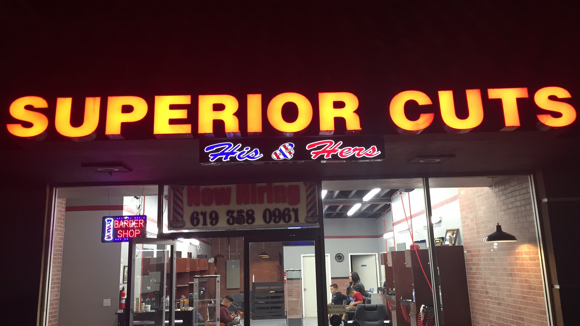 Superior Cuts His & Hers Grand Opening