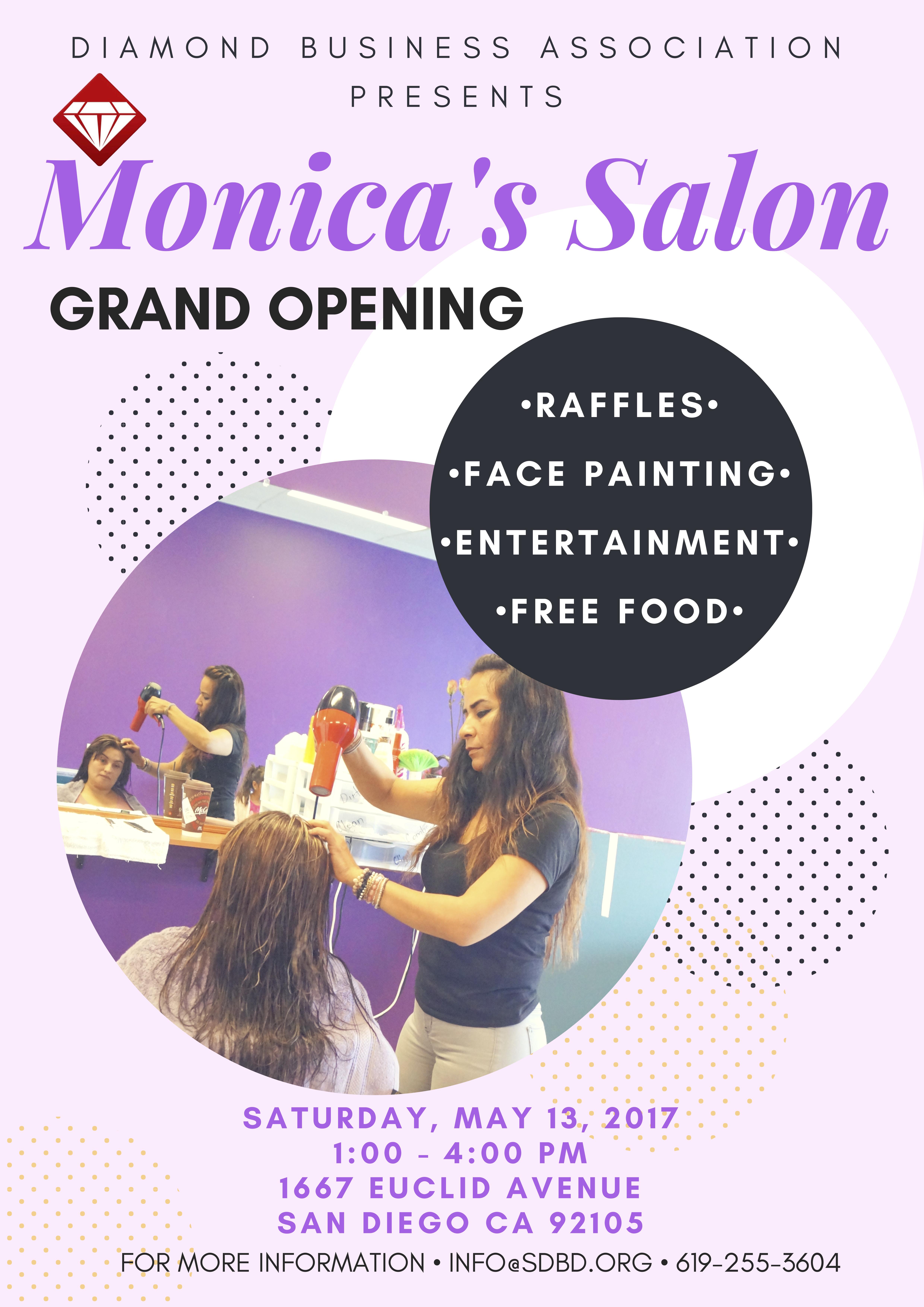 Monica's Salon Grand Opening
